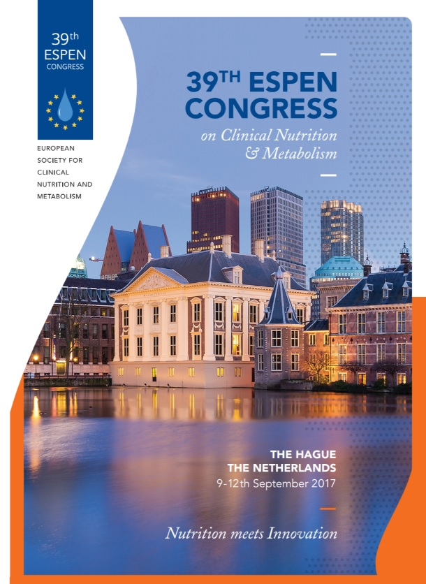 39th ESPEN Congress, The Hague, 9-12th September