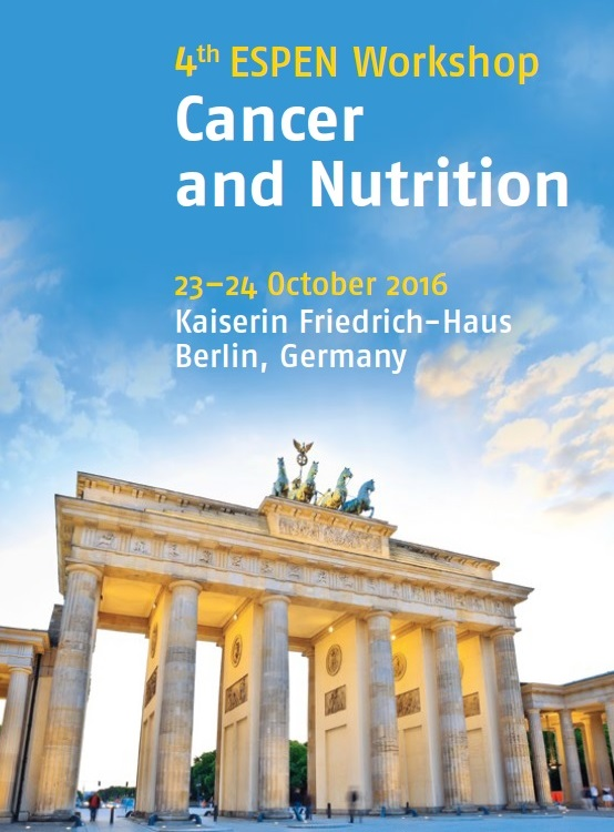 4th ESPEN Workshop 23-24 October 2016 in Berlin, Germany