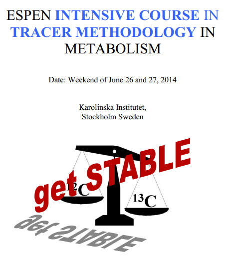 ESPEN Intensive Course Tracer Methodology